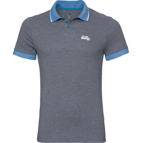 Odlo Nikko SS Polo Men diving navy melange